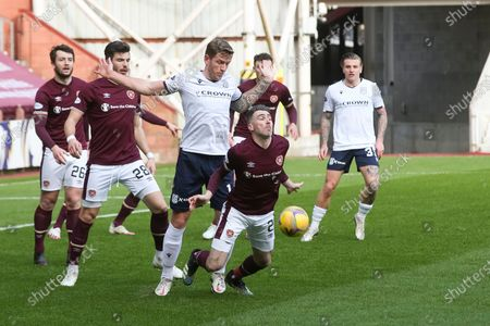 Editorial photo of Heart of Midlothian v Dundee FC, Scottish Championship, Football, Tynecastle Park, Edinburgh, Scotland, UK - 06 Mar 2021