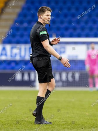Editorial picture of St Johnstone v Hibernian, Scottish Premiership, Football, McDiarmid Park, St Johnstone, Scotland, UK - 06 Mar 2021
