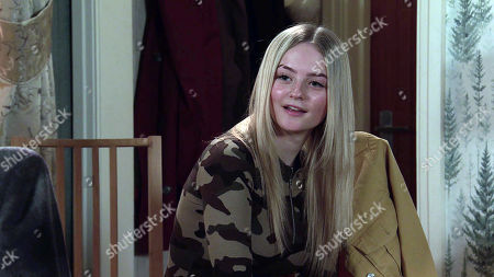 Coronation Street - Ep 10274 Monday 15th March 2021 - 2nd Ep When Imran Habeeb reveals that he and Toyah Neelan, as played by Millie Gibson, are foster parents, Kelly suggests she could stay with them.