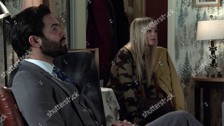 Coronation Street - Ep 10274 Monday 15th March 2021 - 2nd Ep When Imran Habeeb, as played by Charlie de Melo, reveals that he and Toyah Neelan, as played by Millie Gibson, are foster parents, Kelly suggests she could stay with them.