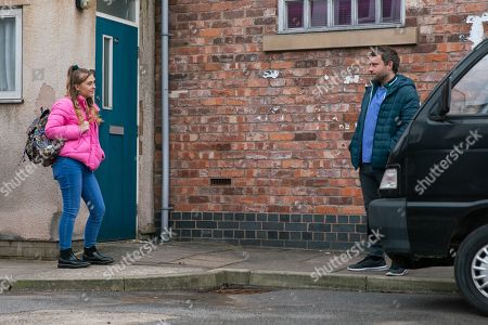 Coronation Street - Ep 10283 Friday 26th March 2021 - 1st Ep When Summer Spellman, as played by Harriet Bibby, suggests that deep down, Billy still has feelings for Paul Foreman, as played by Peter Ash, Todd Grimshaw's annoyed and forms a plan.