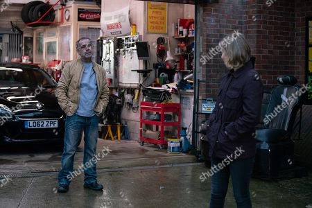 Coronation Street - Ep 10271 Friday 12th March 2021 - 1st Ep Abi Franklyn, as played by Sally Carman, lays the law down and tells Kevin Webster, as played by Michael Le Vell, it's a no to Debbie's wedding venue.