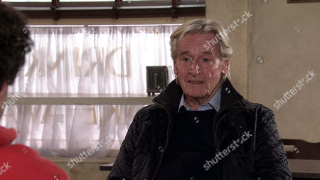 Coronation Street - Ep 10267 Monday 8th March 2021 - 1st Ep Ken Barlow, as played by William Roache, takes Simon Barlow, as played by Alex Bain, to the cafe for a chat. Will a troubled Simon open up?
