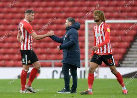 Editorial photo of Sunderland v Rochdale, EFL Sky Bet League One, Football, The Stadium Of Light, Sunderland, UK - 06 Mar 2021