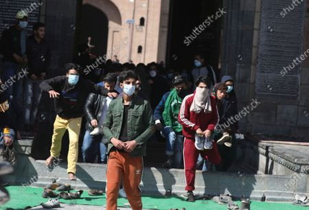 Editorial picture of Clashes in Srinagar over separatist leader's detention, India - 05 Mar 2021