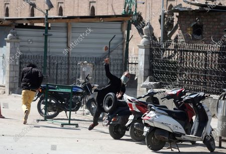 Editorial photo of Clashes in Srinagar over separatist leader's detention, India - 05 Mar 2021