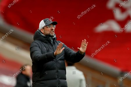 Editorial image of Liverpool v Fulham, Premier League, Football, Anfield, Liverpool, UK - 7 Mar 2021