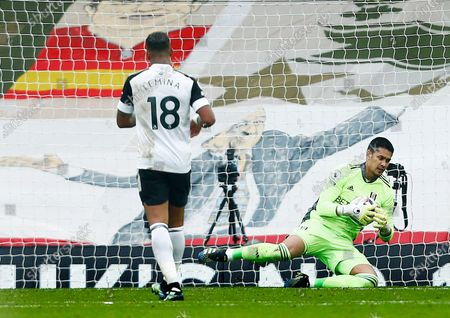 Stock Picture of Fulham goalkeeper Alphonse Areola