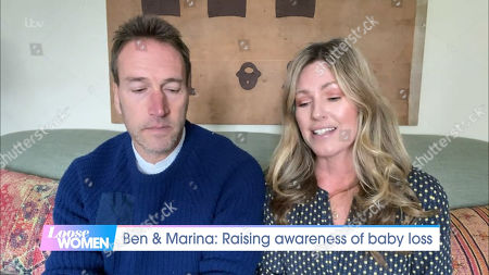 Stock Picture of Ben Fogle and Marina Fogle
