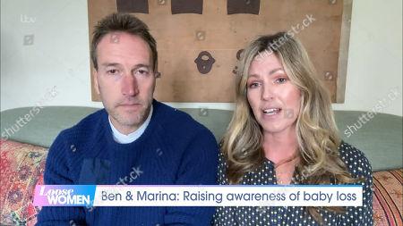 Stock Image of Ben Fogle and Marina Fogle