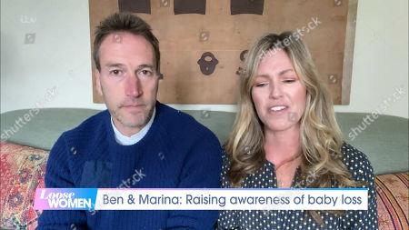 Ben Fogle and Marina Fogle