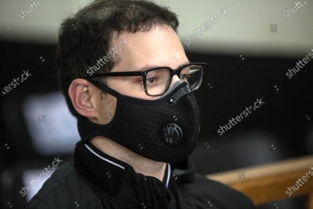 Editorial image of Martinelli's son appears in court in Guatemala for possible extradition to the United States, Guatemala City - 05 Mar 2021