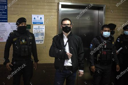 Editorial picture of Martinelli's son appears in court in Guatemala for possible extradition to the United States, Guatemala City - 05 Mar 2021