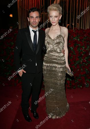 Stock Picture of Nicholas Ghesquiere and Cate Blanchett
