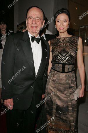Rupert Murdoch and wife Wendy