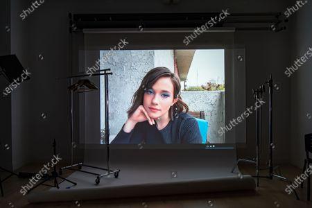 Editorial image of Exclusive - Shutterstock's Exclusive Sundance Virtual Portrait Studio, Behind The Scenes, New York, USA - 2021