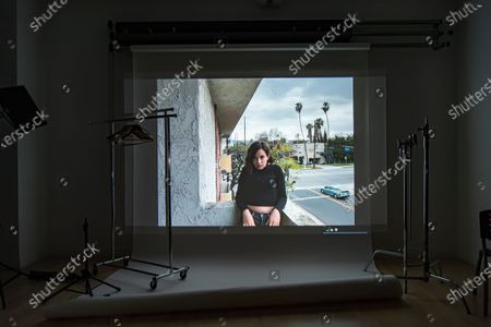Editorial picture of Exclusive - Shutterstock's Exclusive Sundance Virtual Portrait Studio, Behind The Scenes, New York, USA - 2021
