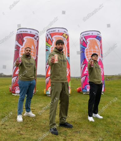 Members of dance troupe Diversity Jordan Banjo, Perri Kielyat and Ashley Banjo at Goodwood Aerodrome.   Dance troupe Diversity, known for flying through the air in their stage performances, today took to the air outside - with jetpacks strapped to their hands. Diversity members including founder Ashley Banjo, Jordan Banjo and Perri Kiely, donned Gravity Industries' cutting edge human-flight suit and took to the skies powered by Grenade Energy.  Ashley, 32, said: Ahead of the day we were certain Pel would smash it, he's annoyingly very good at pretty much everything he puts his energy into.