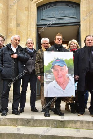 Editorial picture of Homage to Remy Julienne, Paris, France - 05 Mar 2021