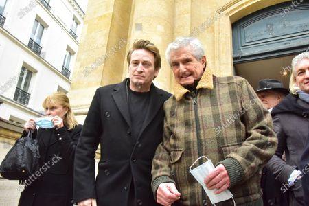 Benoit Magimel, Claude Lelouch