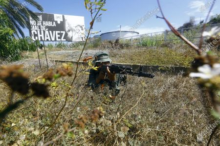 Editorial picture of Chavez Anniversary, Puerto La Cruz, Venezuela - 05 Mar 2021
