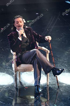 Editorial image of 71st Sanremo Music Festival, Sanremo, Italy - 05 Mar 2021