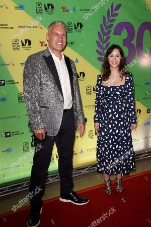 Editorial image of 'Ludi' film premiere, Arrivals, Miami Film Festival, Miami, Florida, USA - 05 Mar 2021