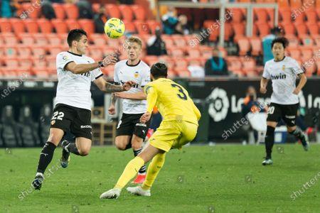 Editorial image of Valencia CF Vs Villarreal .CF in Valencia, Spain - 5 March 2021