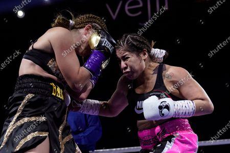 Editorial image of Esparza Barnett Boxing, Flint, United States - 05 Mar 2021