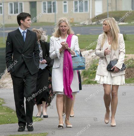 Jake Warren, former royal nanny Tiggy Pettifer and Chelsy Davy