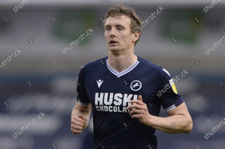 Jon Dadi Bodvarsson of Millwall  in action during the Sky Bet Championship, Championship match between Millwall and Preston North End at The Den in London - 6th March 2021