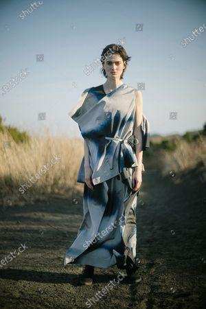 Editorial image of France Paris Fashion Week Digital Show Issey Miyake - 06 Mar 2021