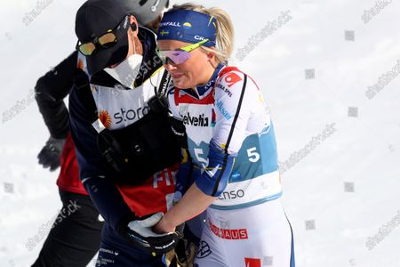 Editorial picture of Nordic Skiing Worlds, Oberstdorf, Germany - 06 Mar 2021