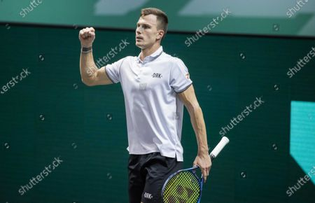 Editorial image of ABN AMRO World Tennis Tournament, Rotterdam, Netherlands - 06 Mar 2021