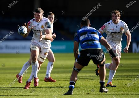 Editorial image of Bath Rugby v Exeter Chiefs, Gallagher Premiership, Rugby Union, Recreation Ground, Bath, UK - 06 Mar 2021