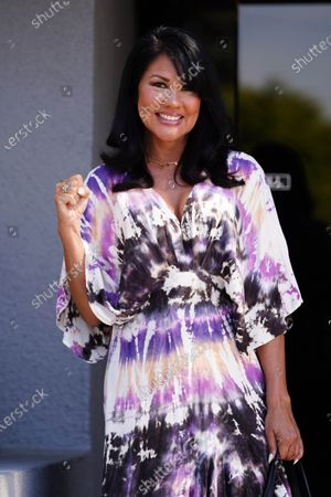 Editorial image of Mia St John out and about, Los Angeles, USA - 05 Mar 2021