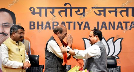 Editorial picture of Former TMC MP Dinesh Trivedi Joins BJP, New Delhi, Delhi, India - 06 Mar 2021
