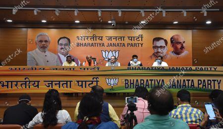 Editorial photo of Former TMC MP Dinesh Trivedi Joins BJP, New Delhi, Delhi, India - 06 Mar 2021