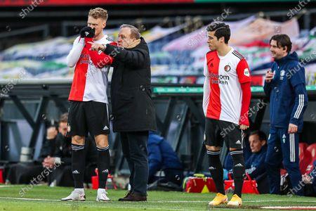 Editorial image of Feyenoord - VVV-Venlo, Rotterdam, Netherlands - 06 Mar 2021