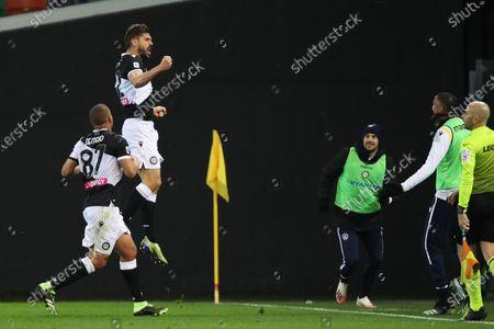 Editorial image of Udinese Calcio vs US Sassuolo Calcio, Udine, Italy - 06 Mar 2021