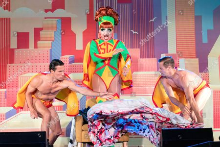Stock Picture of Drag Queen Bianca Del Rio performs