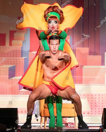 Drag Queen Bianca Del Rio performs