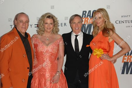 Ken Rickel, Nancy Davis, Tommy Hilfiger and Wife