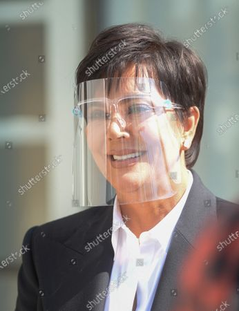 Editorial photo of Kris Jenner out and about, Los Angeles, California, USA - 06 Mar 2021