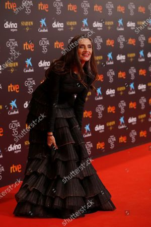Editorial picture of 35th Goya Film Awards Ceremony, Malaga, Spain - 06 Mar 2021