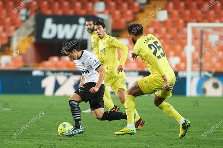 Editorial photo of Valencia v Villarreal, La Liga, Valencia, Spain - 05 Mar 2021