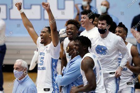 Editorial photo of Duke North Carolina Basketball, Chapel Hill, United States - 06 Mar 2021