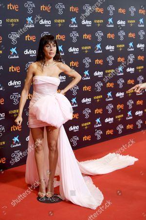 Editorial photo of 35th Goya Film Awards, Red Carpet, Malaga, Spain - 06 Mar 2021