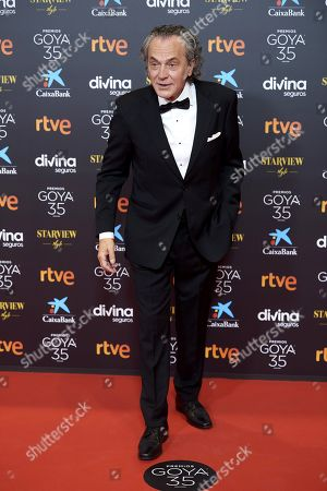 Editorial picture of 35th Goya Film Awards, Red Carpet, Malaga, Spain - 06 Mar 2021