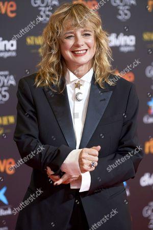 Editorial image of 35th Goya Film Awards, Red Carpet, Malaga, Spain - 06 Mar 2021